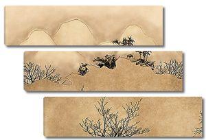 Горы песочного цвета
