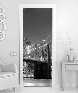 Нью-Йорк Бруклинский мост