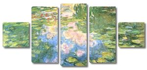 Моне Клод. Пруд с водяными лилиями, 1917-19 03
