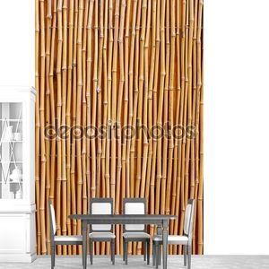 Текстура натурального бамбука