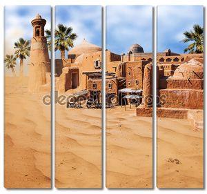 Старый город азиатские фантазии в пустыне