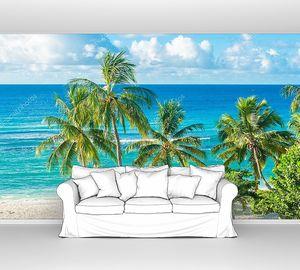 Барбадосский бирюзовый пляж