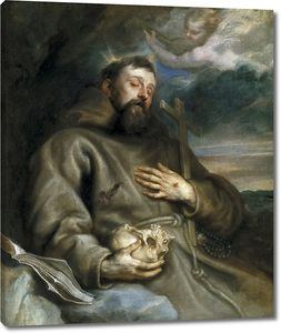 Дейк Антонис ван. Святой Франциск Ассизский в экстазе