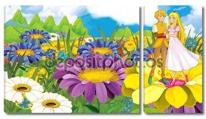 Мультфильм сказка пара - Принц и принцесса