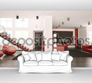 современный 3-й обзор интерьера квартиры