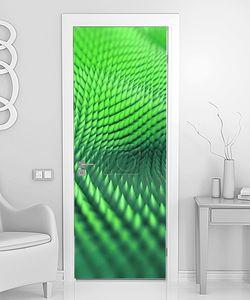 Абстрактные 3d  фон, компьютерная графика, зеленый макро tex