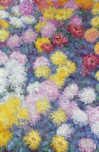 Моне Клод. Хризантемы, 1897 01