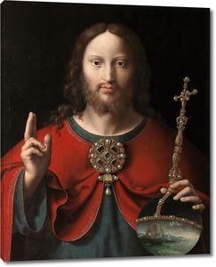 Йос ван Клеве (приписывается). Спаситель