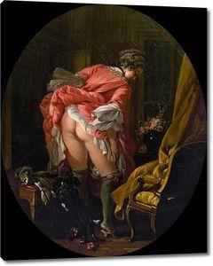 Франсуа Буше. Задраная юбка