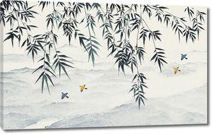 Бамбук нависает над горами