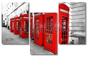 Лондон Телефон коробки