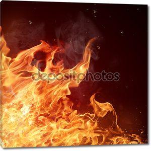 огонь пламя фон