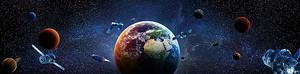 Планеты в темном космосе
