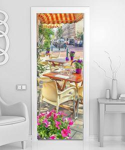 Летнее кафе на Голландских улицах
