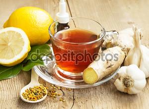 Лимонный чай с Ginger.Alternative медицины