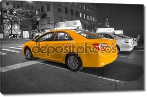Нью-Йорк Сити желтые такси