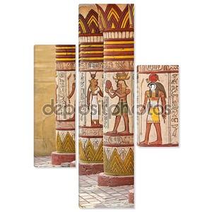 Старый Египет иероглифы, вырезанные на камне