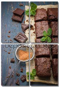 Домашний шоколад с орехами