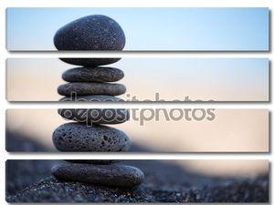 Каменная пирамидка