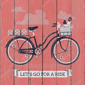 Вперед на велосипеде