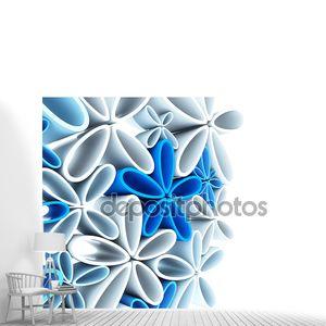 Цветочный фон 3D