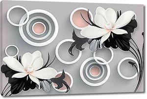 Кольца и цветы