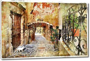 старые улицы, Крит