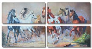 Разномастные лошади