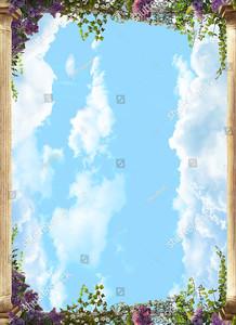 Небо меж двух колонн