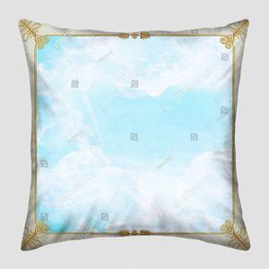 Небо в квадрате с зорами