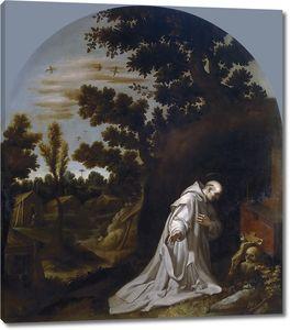 Кардучо Висенте. Святой Бруно в Калабрии