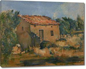 Поль Сезанн. Заброшенный дом возле Экс-ан-Прованс