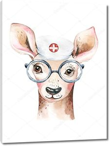Олень врач