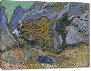 Ван Гог. Ущелье с ручейком