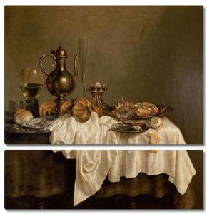 Хеда Виллем Клас. Завтрак с омаром (лобстером)