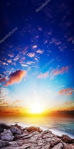 Удивительный закат