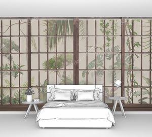 Ботанический сад с панорамными окнами
