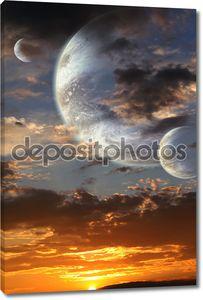 Закат на чужой планете