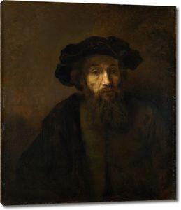 Рембрандт. Портрет бородатого мужчины в берете