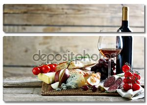 Итальянское вино и сыр