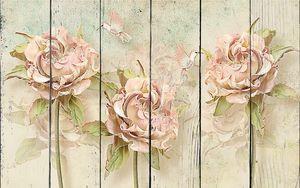 Три кудрявые розы