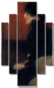 Климт Густав. Портрет дамы