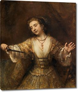 Рембрандт. Лукреция
