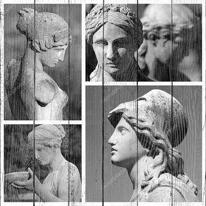 Коллекция женских классических скульптур