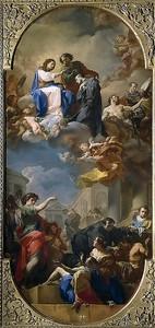 Коррадо Джакуинто. Триумф святого Иоанна Божьего