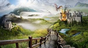 Дорога к горящему замку