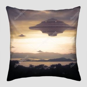 Космический корабль пришельцев
