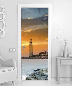Закат над маяком