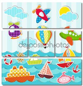 море и воздушный транспорт