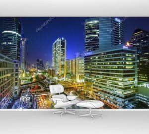 Ночной вид Бангкока